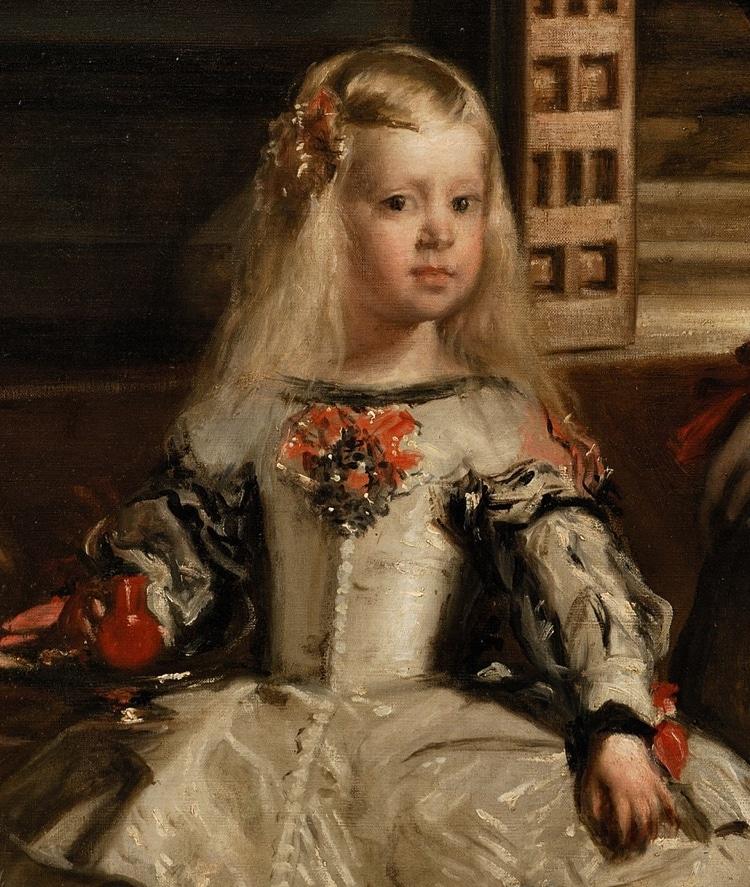 Maria Theresa in Las Meninas