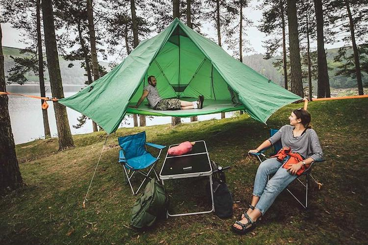 Multifunctional Tree Tent by Tentsile