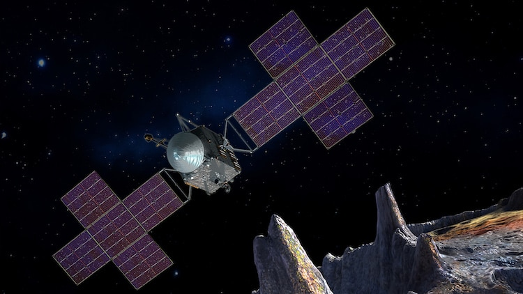 Pysche Spacecraft Artist Rendering
