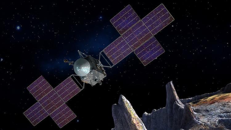 Misión de la nave espacial Pysche