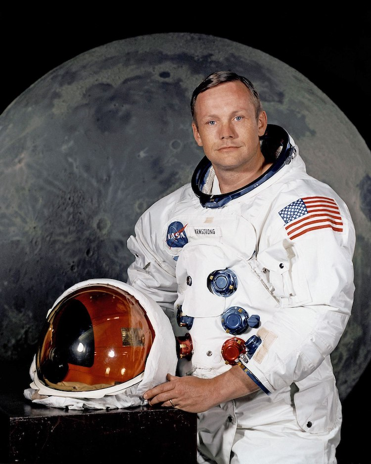 Portrait of NASA Astronaut Neil Armstrong