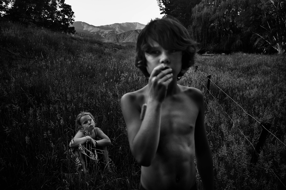 Black and White Children's Photography by Niki Boon