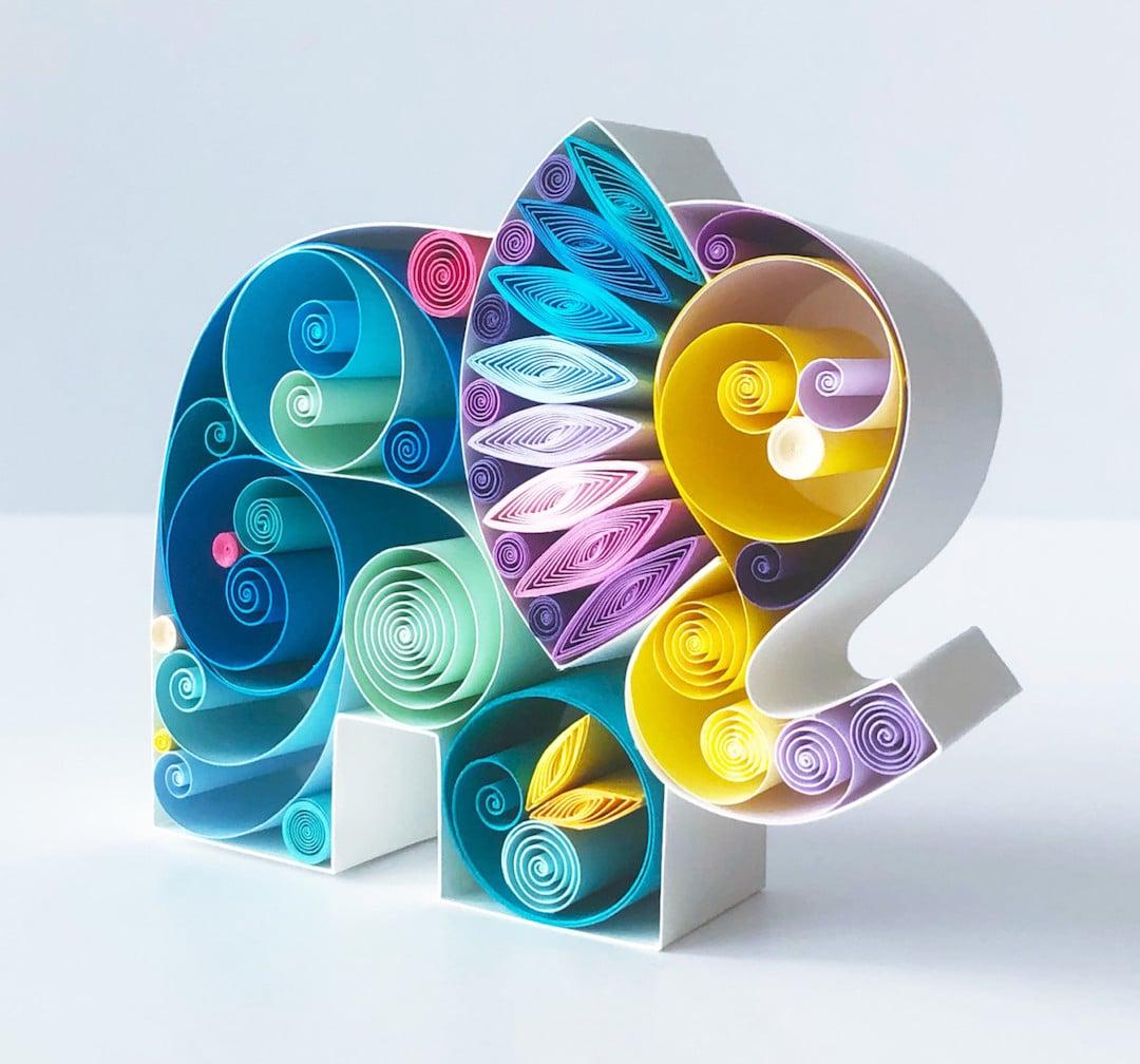 Paper Quilling Art by Sens Runa