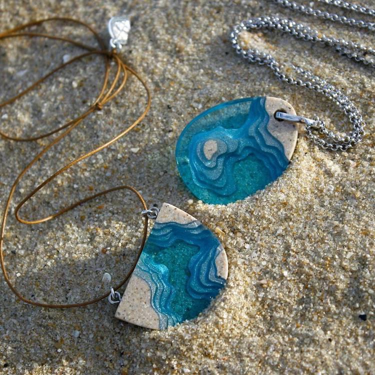 accesorios con resina por Britta Boeckmann BoldB