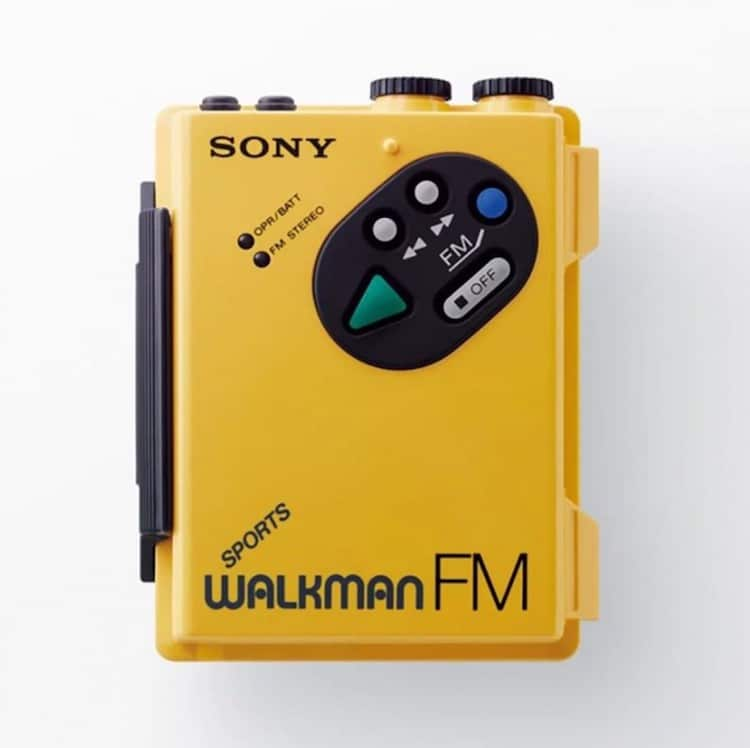 Sony Walkman 40 Anniversary Exhibition by Ginza Sony Park