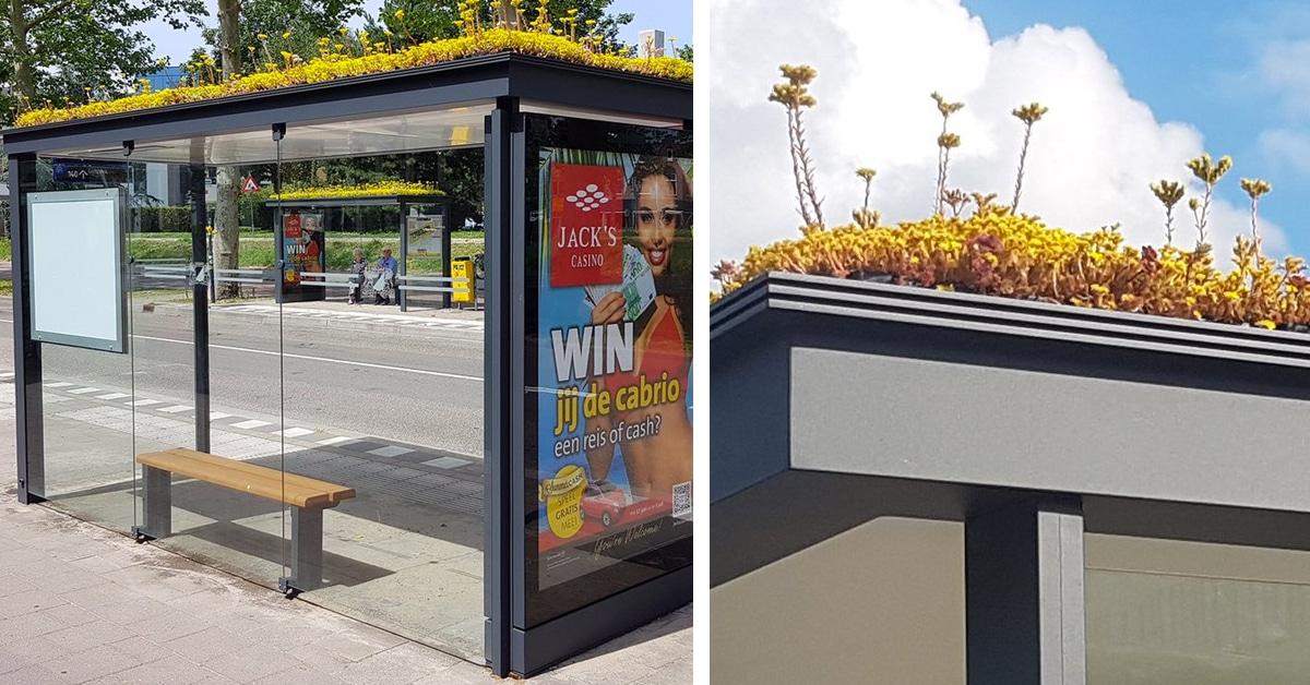 ایستگاه اتوبوس سبز اوترخت هلند