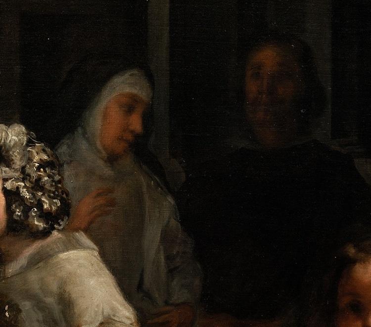 Detail of Las Meninas by Diego Velazquez