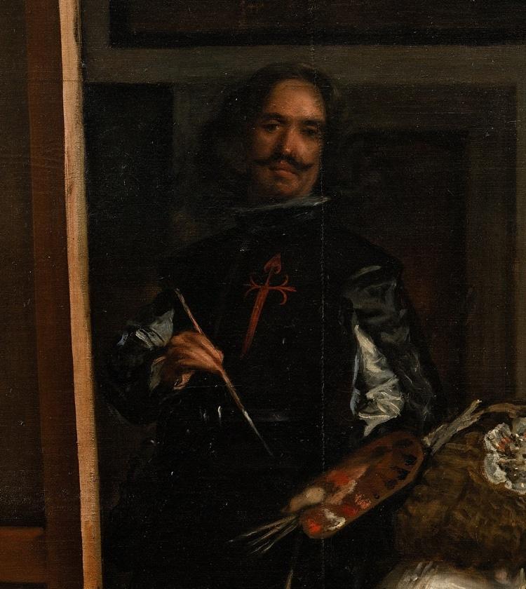 Velazquez Self Portrait in Las Meninas