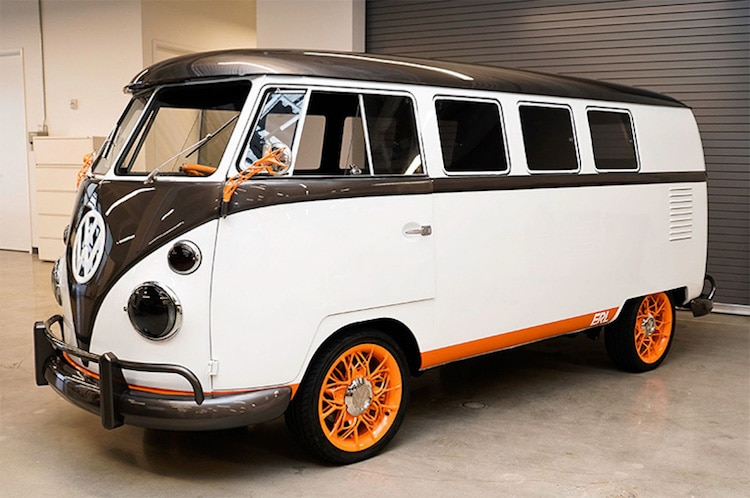 Volkswagen Type 20 Microbus Electric Vehicle