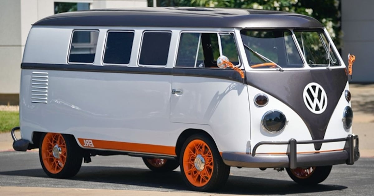 volkswagen update classic microbus with electric power and a new look