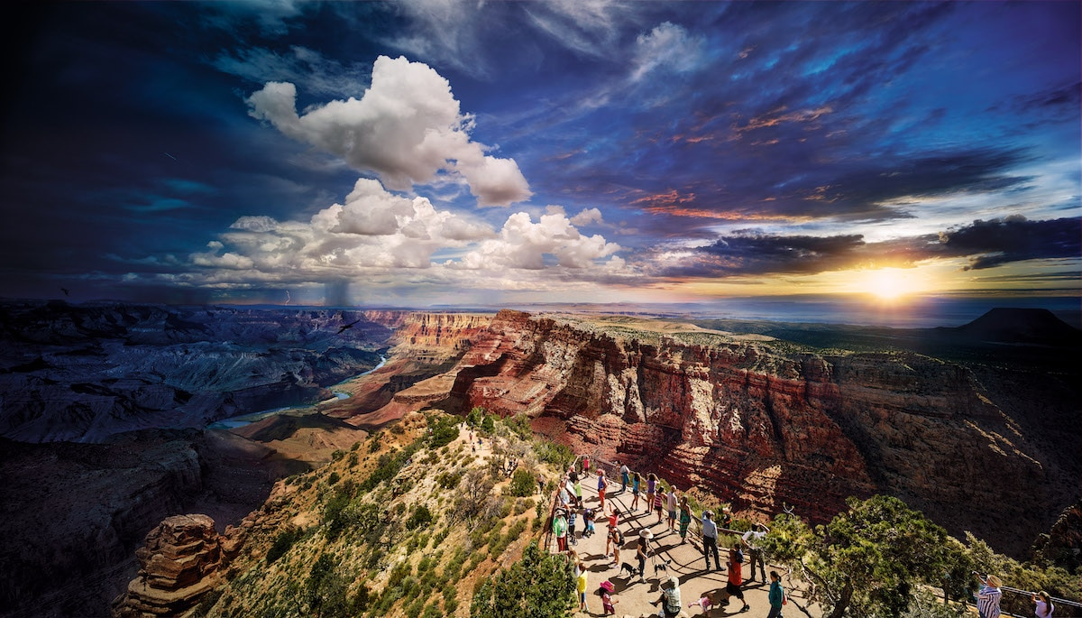 Grand Canyon by Stephen Wilkes