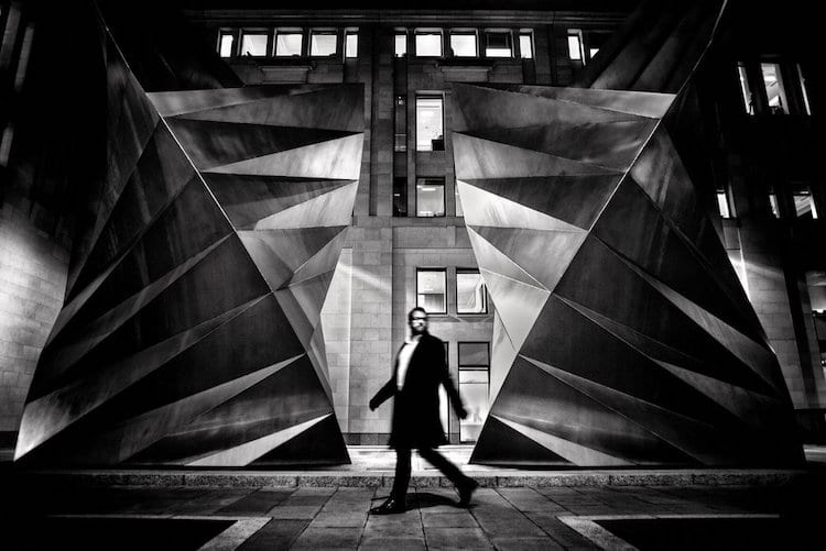 Black and White Street Photography by Alan Schaller