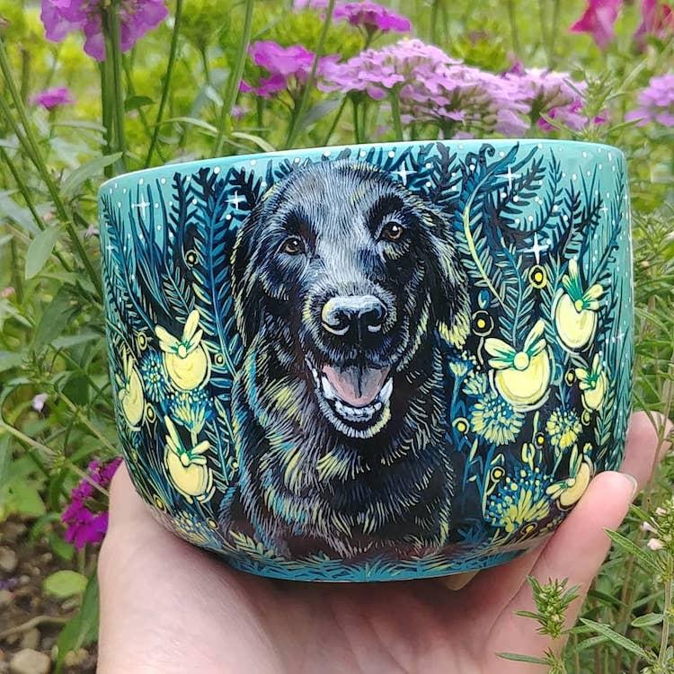 Animal Ceramic Mugs by SheWolfka