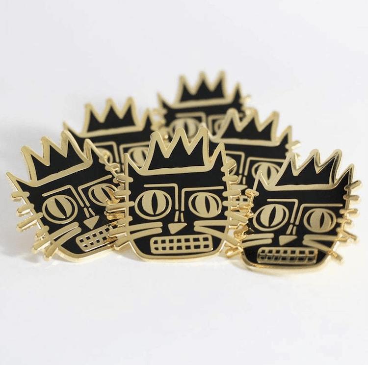 Cat Artist Pins