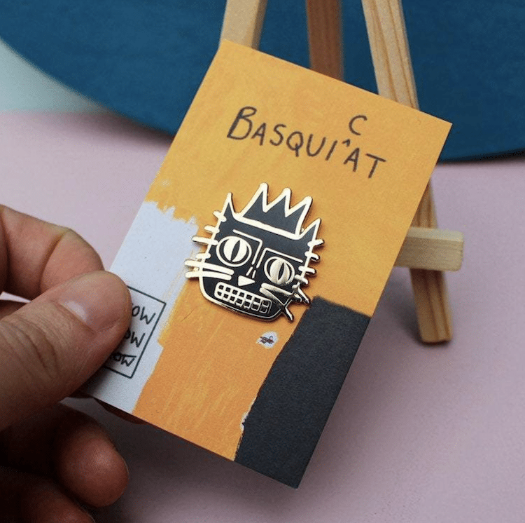 Pin de Basquiat