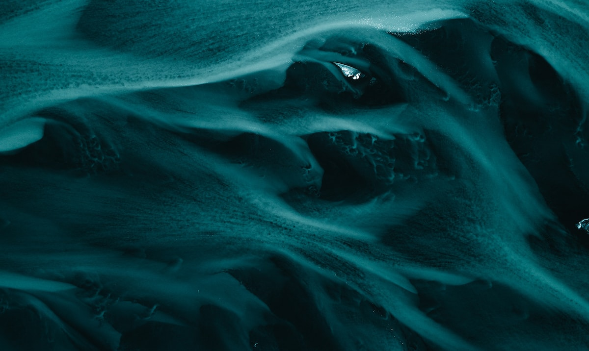 Abstract Aerial Photos of Iceland by Ben Simon Rehn