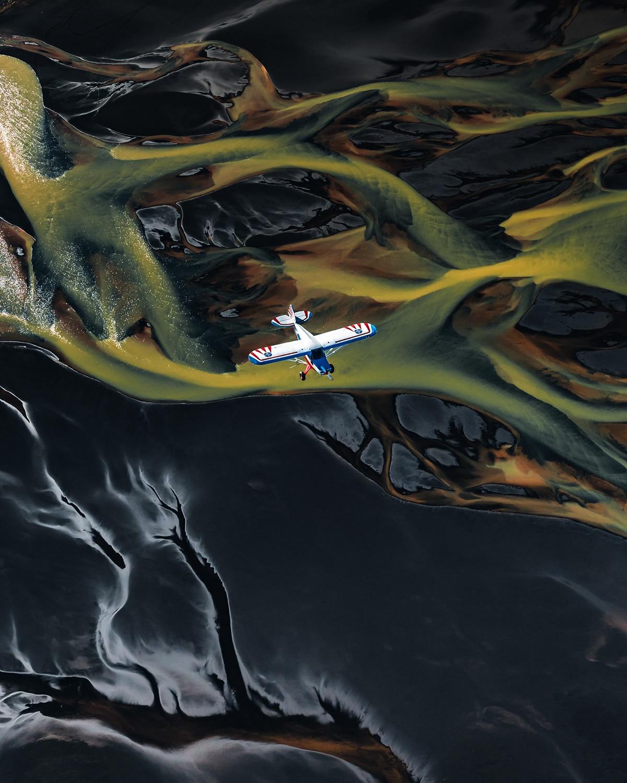 Abstract Aerial Photos of Iceland by Ben Simon Rehn