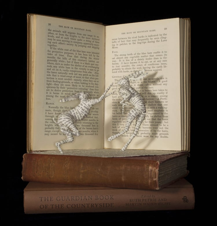 Book Sculptures by Emma Taylor