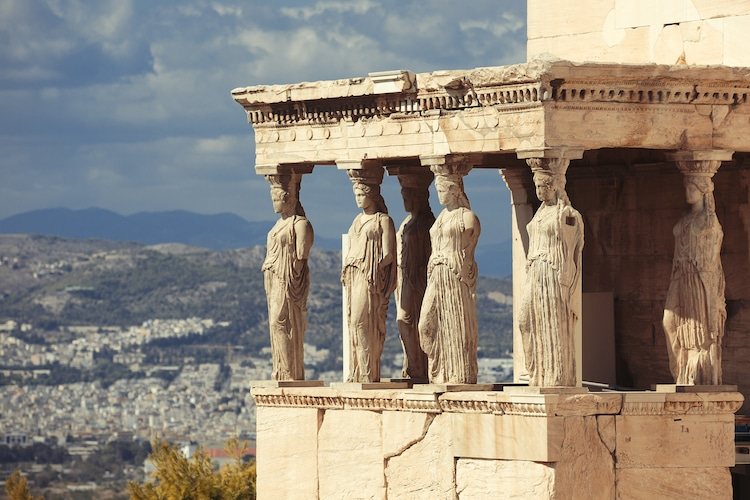 What are Caryatids