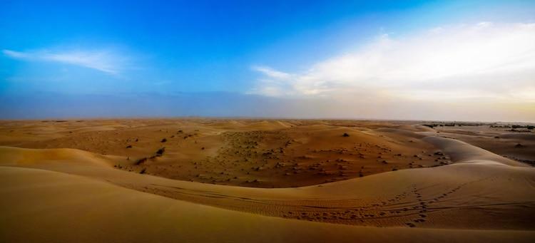 Sahara Desert Near Chinguetti in Mauritania