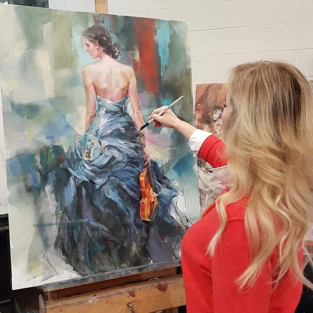 Interview with Painter Anna Razumovskaya