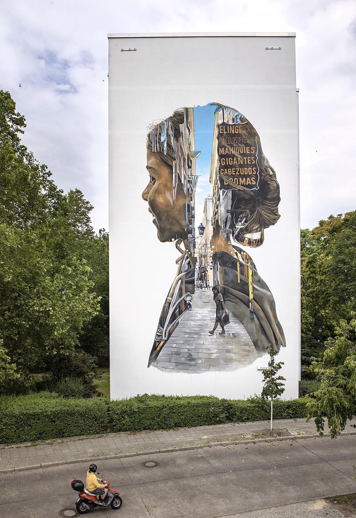 Cristian Blanxer Berlin Mural