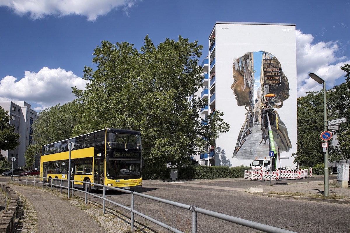 Street Art in Berlin by Urban Nation