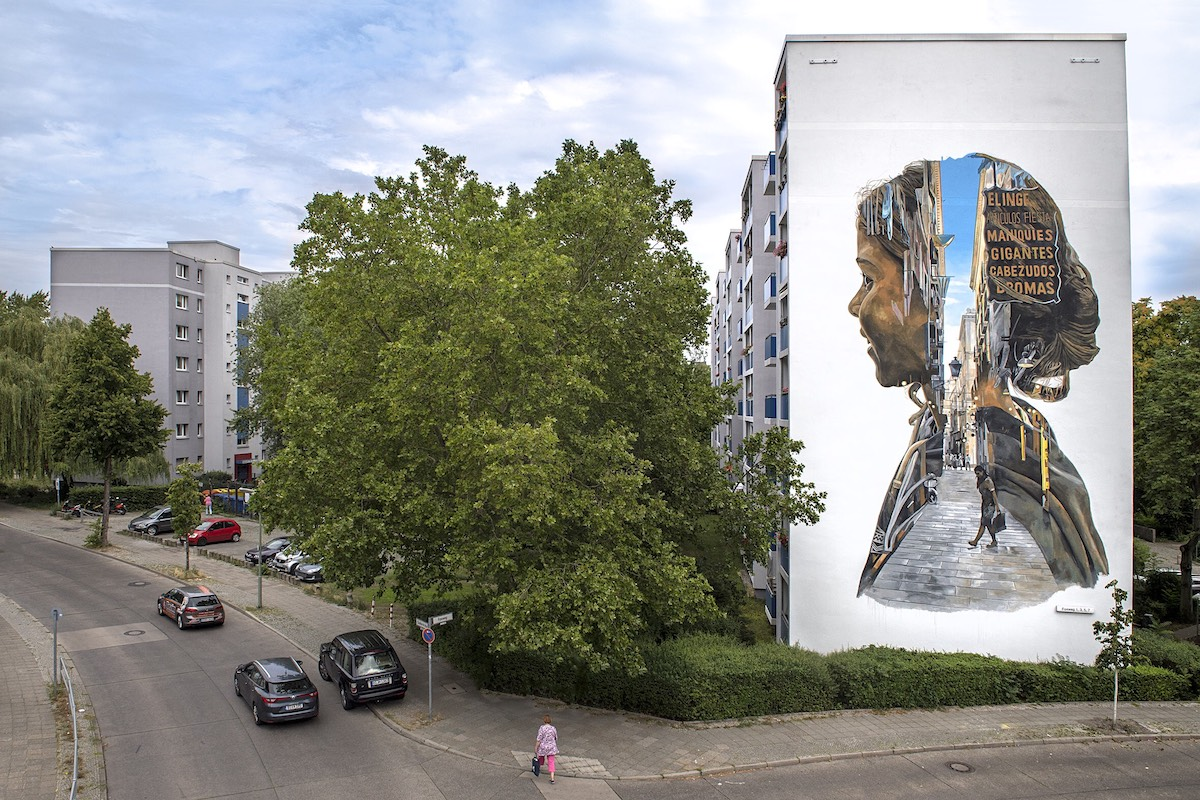 Berlin Street Art by Cristian Blanxer