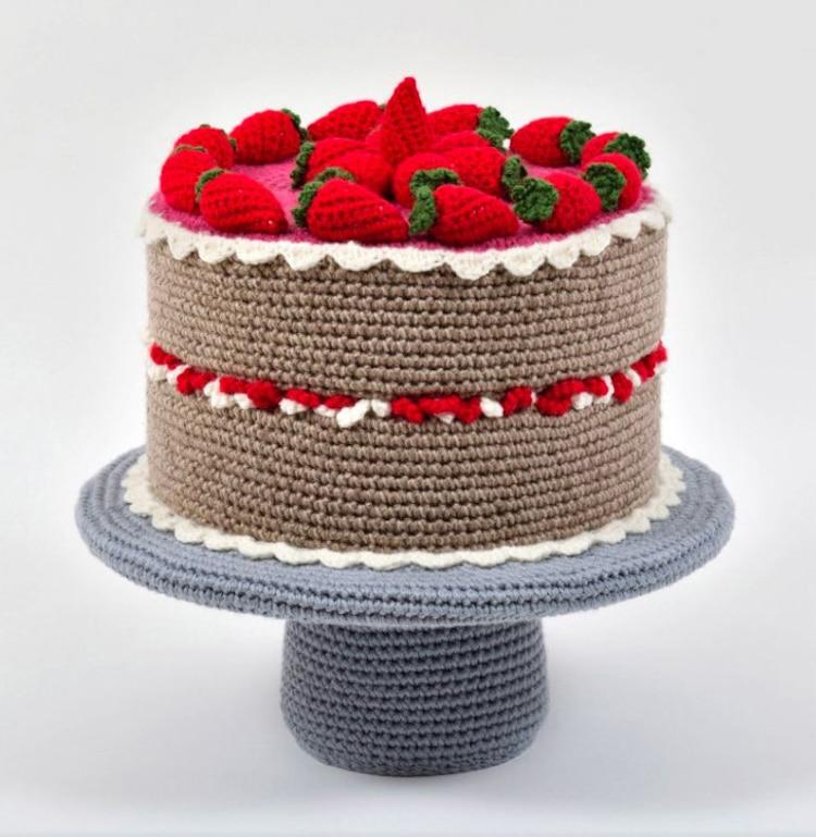 Crochet Sculptures by Trevor Smith