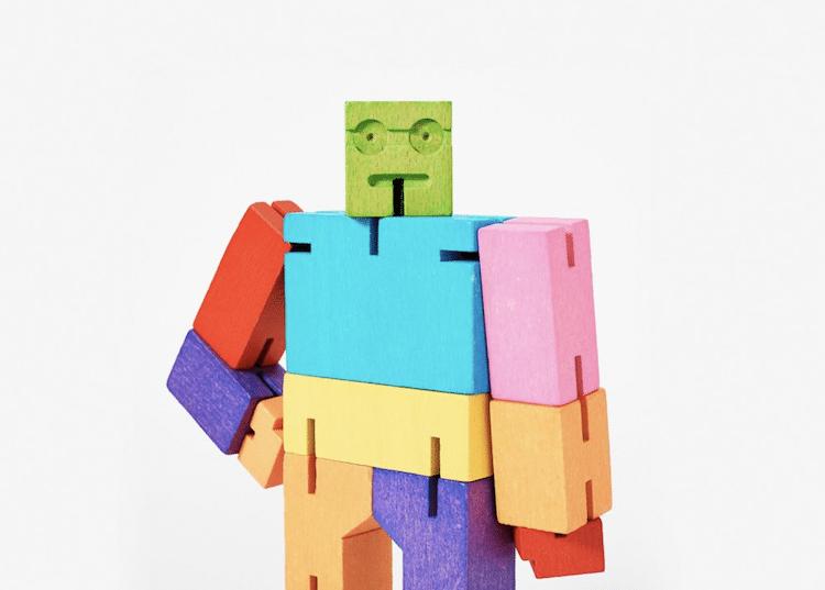 Cubebot multicolor