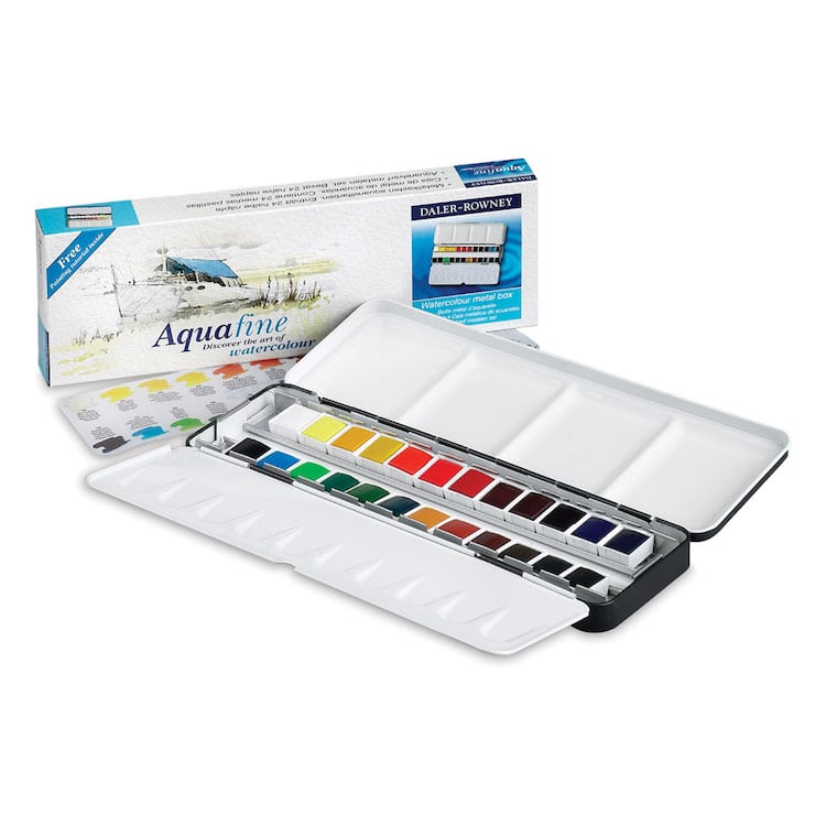 Daler-Rowney Watercolor Set