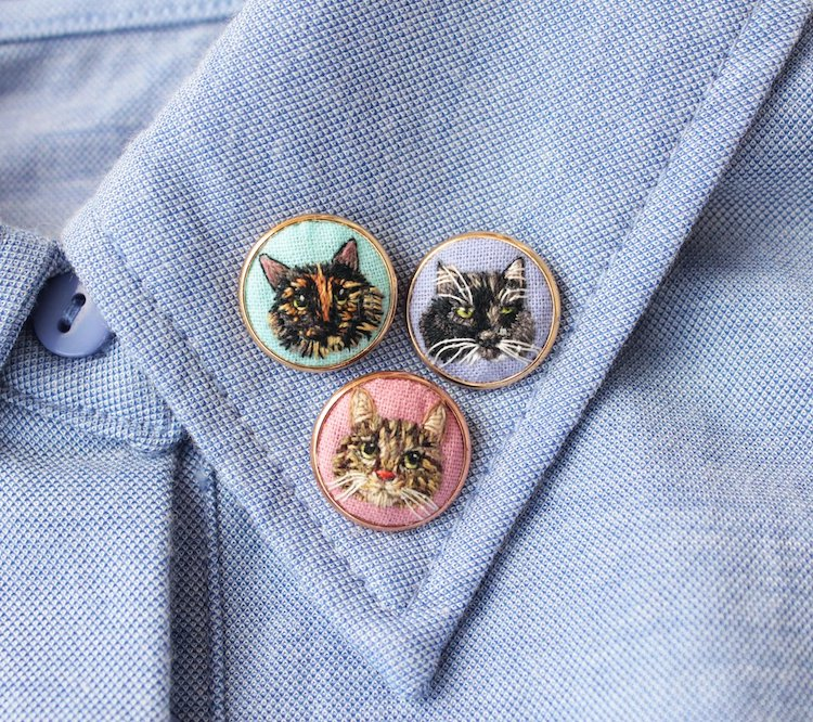 pins bordados