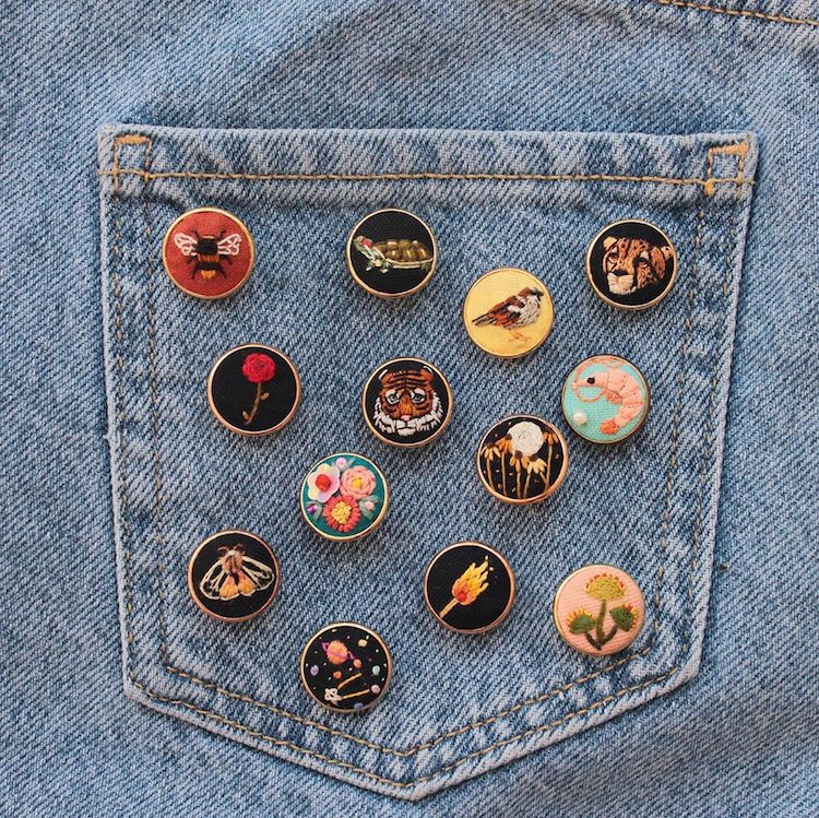 Embroidery Pins
