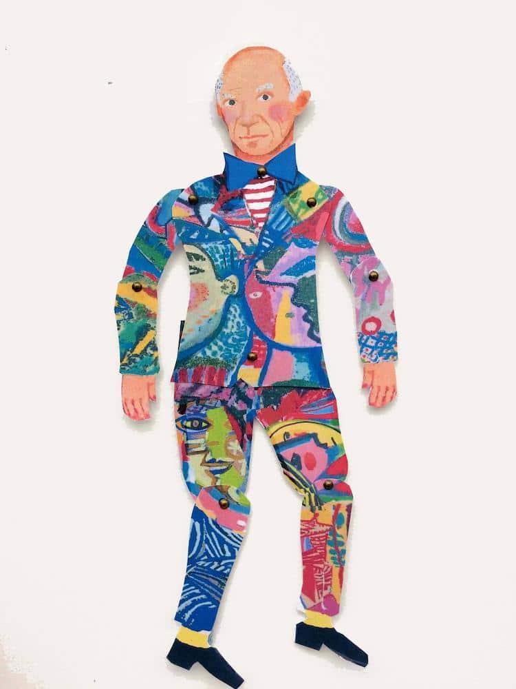 Pablo Picasso Puppet
