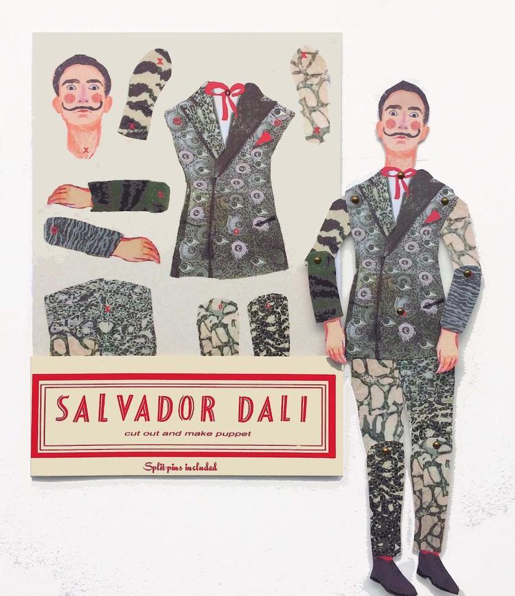 Salvador Dali Puppet