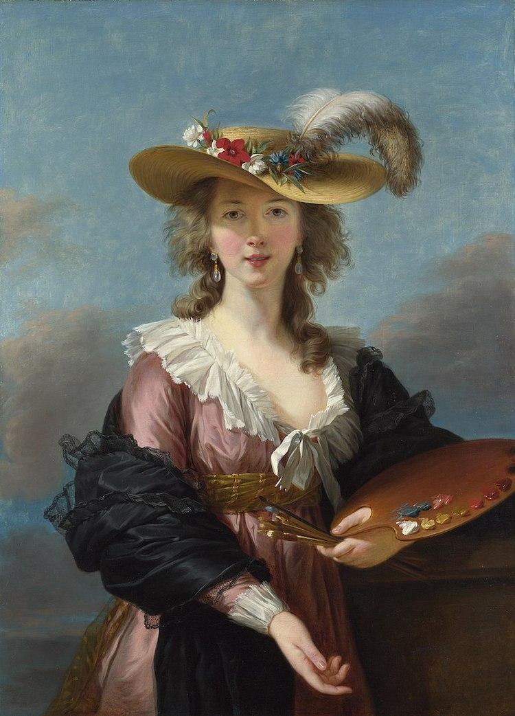 Elisabeth Vigee Le Brun Famous Female Artist