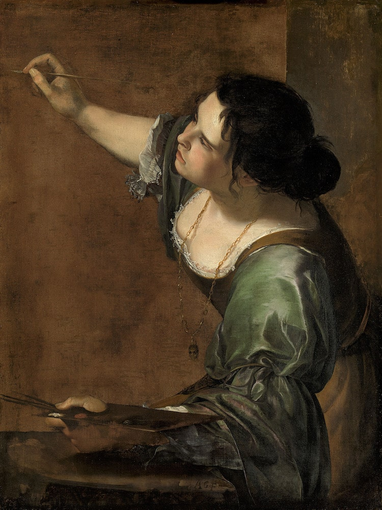 Artemisia Gentileschi Female Painter