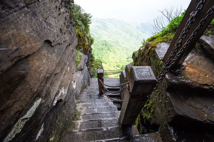 Stairs to Fanjingshan