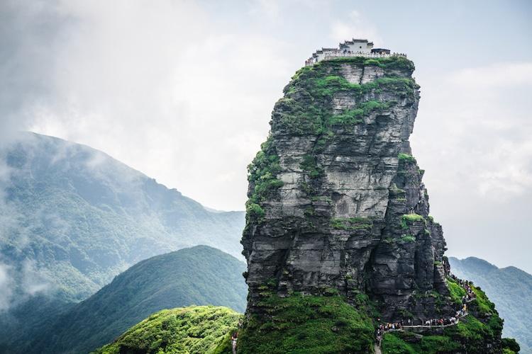 Nueva Cumbre Dorada en Fanjingshan