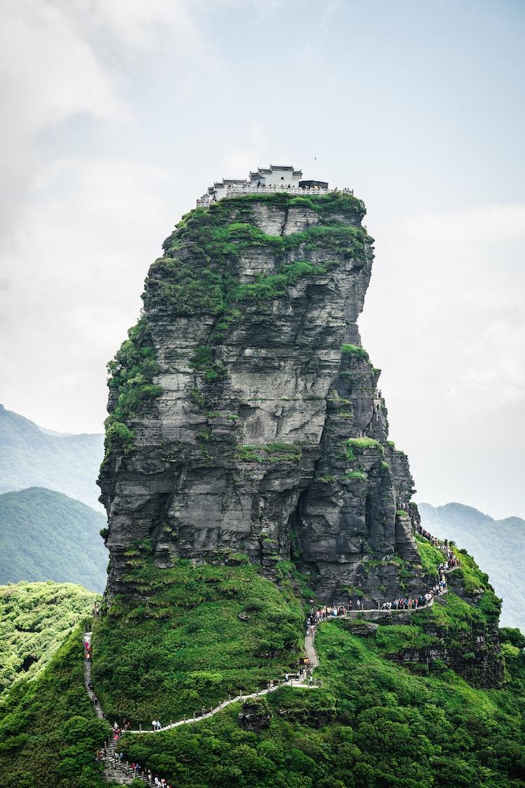 Cumbre Dorada en Fanjingshan