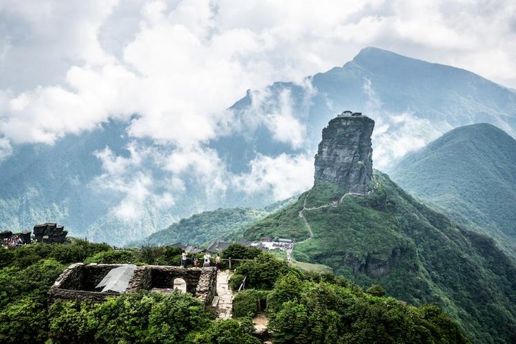 Monte Fanjing en China