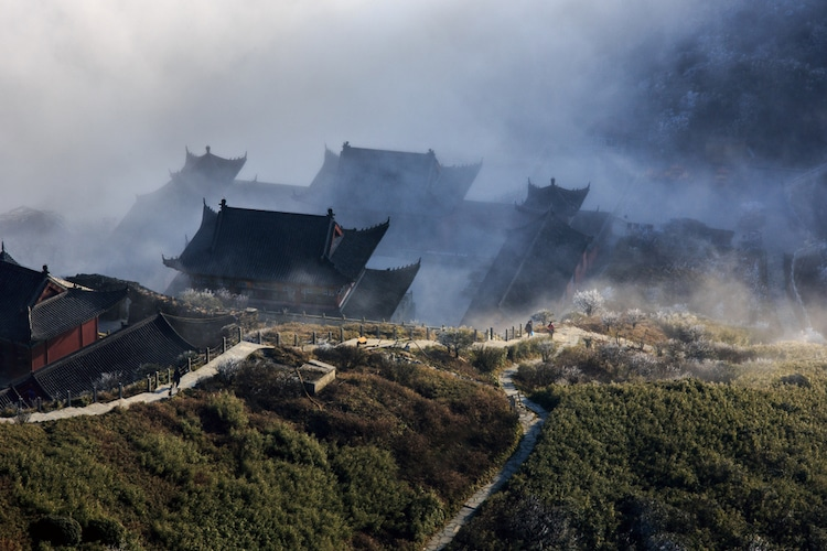 Buddhist Temples on Fanjingshan in China