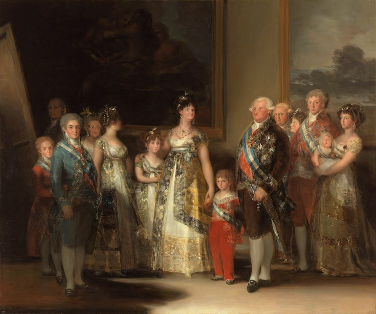 Pinturas importantes de Francisco de Goya