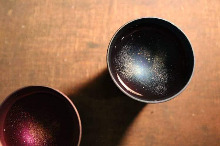 Galaxy Sake Cups by Sansaku