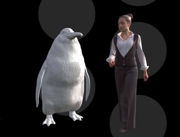 Crossvallia waiparensis - pingüino gigante