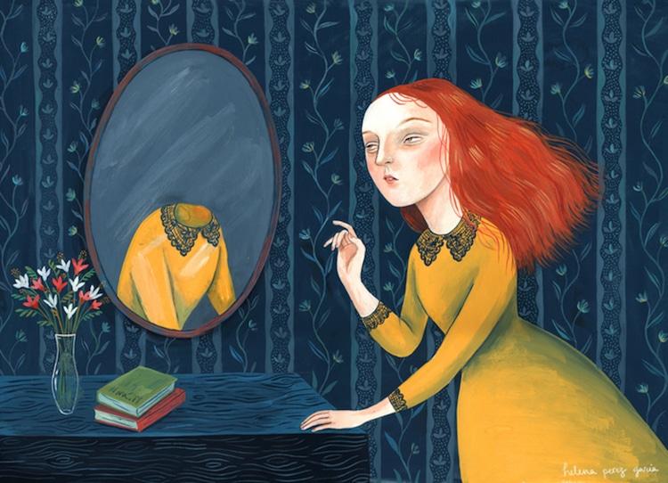 Ilustraciones en gouache por Helena Perez Garcia