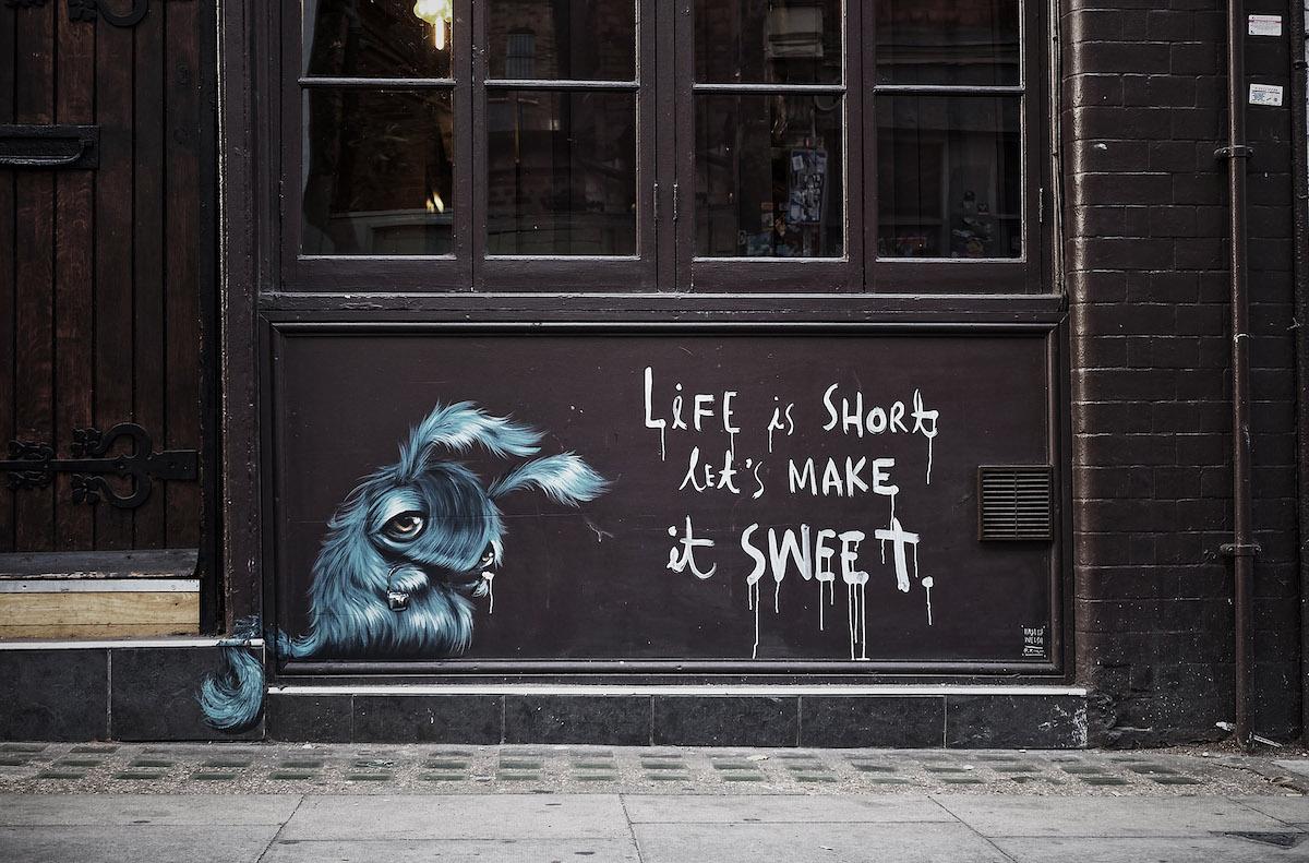 Murales callejeros inspiradores de Hayley Welsh