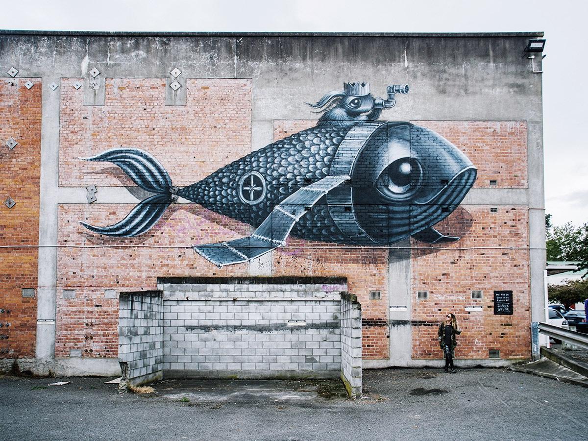 Hayley Welsh Arte callejero