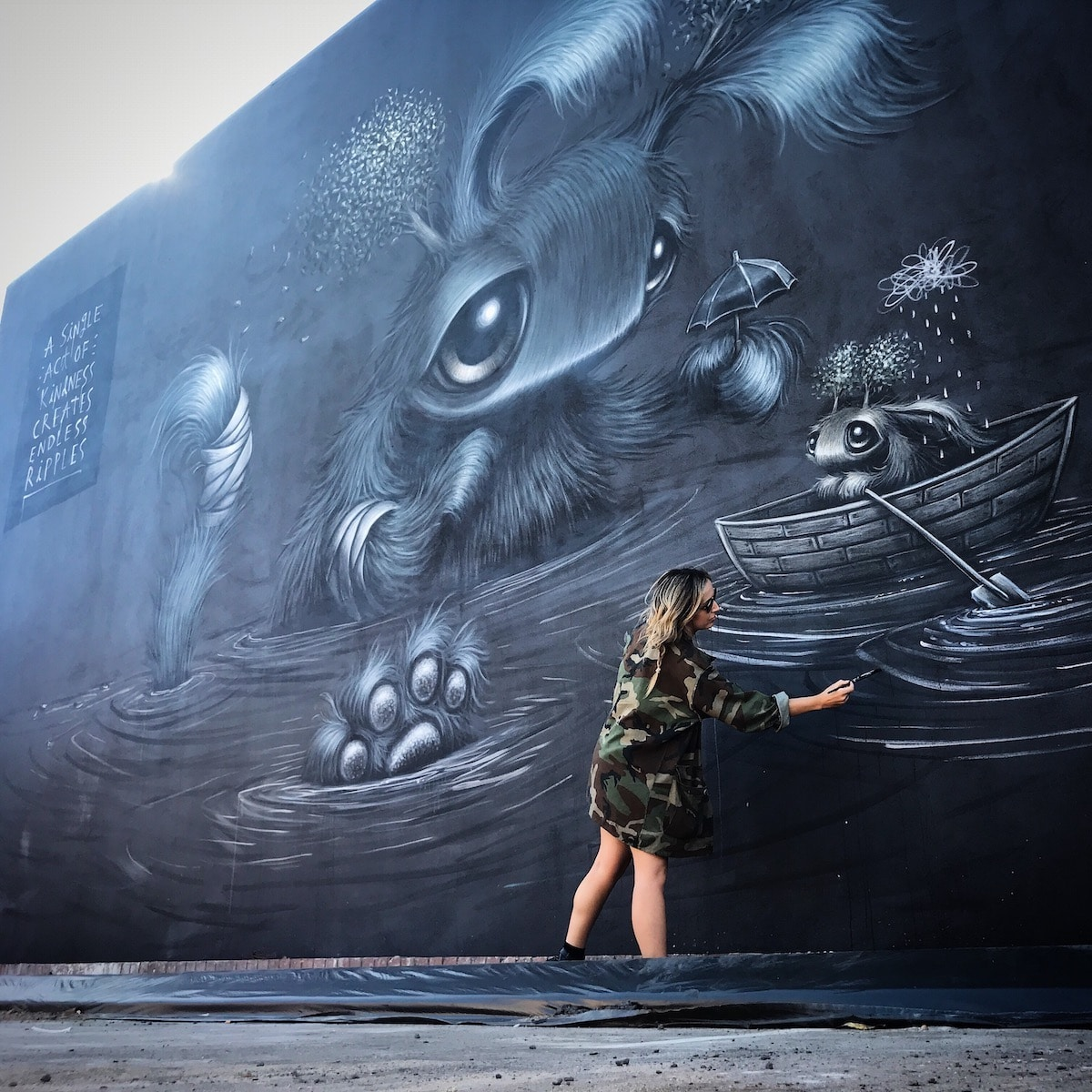 Hayley Welsh Street Art
