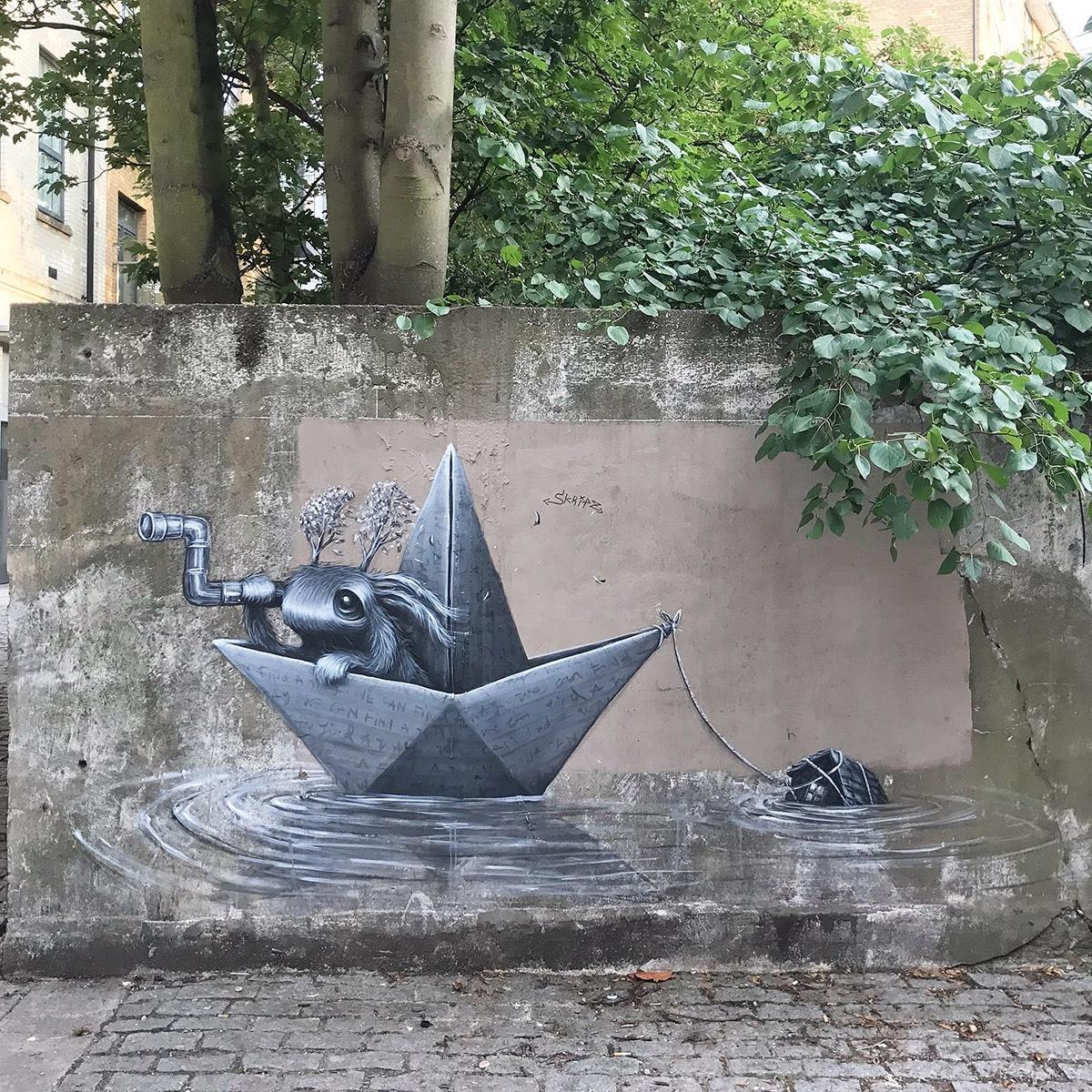 Whimsical Street Art